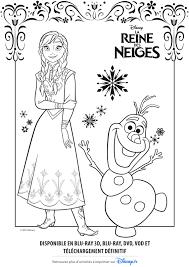 Coloriage Reine Des Neiges  Les beaux dessins de Dessin Animé à