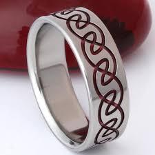 titanium wedding ring titanium celtic ring ck13 titanium rings studio
