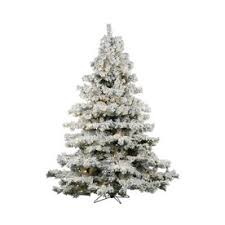 Frosted Christmas Tree Sale - shop artificial christmas trees at lowes com