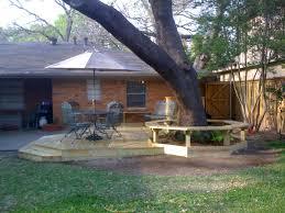 Tree Ideas For Backyard Backyard Pool Backyard Decking Ideas Big Tree Dining Table