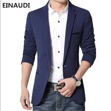 casual blazer aliexpress com buy einaudi fashion blazer casual suits slim