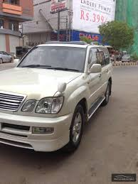 lexus car 2001 lexus lx series 2001 for sale in karachi pakwheels