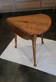 Drop Leaf Farm Table Painted Small Drop Leaf Table Hometalk