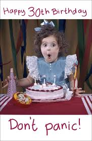 uk greetings 30 today birthday card whsmith