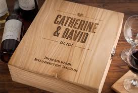 Personalized Wooden Boxes Wooden Wine Box