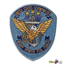 top gun usn vfw 124 7th fleet g1 jacket patch blue background