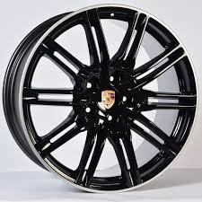 bentley u0027s new 277 235 100 porsche turbo wheels black porsche cayenne turbo on