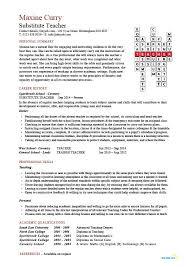 a good resume for teacher teacher cv template lessons pupils