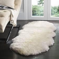 Cheap Sheepskin Rugs Amazon Com Safavieh Sheepskin Collection Shs211a Genuine