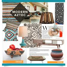 Aztec Style Rugs Modern Aztec Style Polyvore