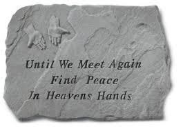 memory stones garden memorial stones