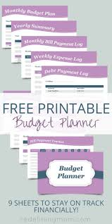 Weekly Expenses Spreadsheet Free Printable Budget Planner Printable Budget Planner