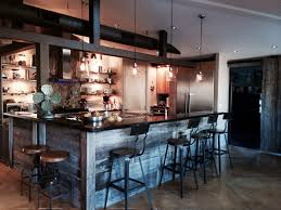 Lodge Style Home Decor by Our Kitchen Modern Industrial Chic Decor Pinterest Kitchen