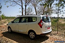 renault lodgy price renault lodgy amt expected to arrive soon motoroids