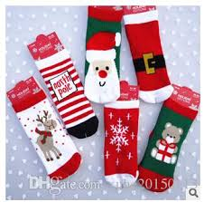 new years socks 2015 christmas socks kids children thick warm socks kids baby boys