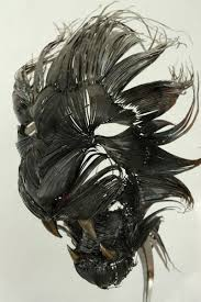 metal lion sculpture majestic animal masks made from hammered scrap steel vuing