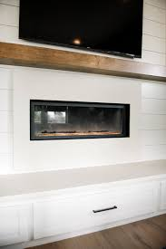 a modern farmhouse fireplace update emily henderson