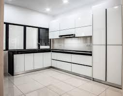 kitchen cabinets aluminum glass door cool white fully aluminum 4g white glass door