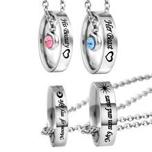 Engraved Necklaces For Couples Popular Custom Couples Necklaces Buy Cheap Custom Couples