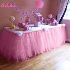 tutu decorations for baby shower many tulle tutu table skirt tulle tableware for wedding decoration