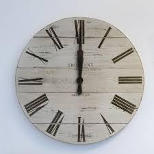 white wood wall clock for decoration u2013 wall clocks