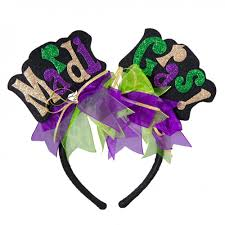 glitter headbands mardi gras words glitter headband mg5 007 mardigrasoutlet