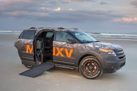 Ford Explorer Base - 2016 ford explorer base of first wheelchair accessible suv