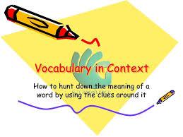 context clues vocabulary in context english grammar youtube