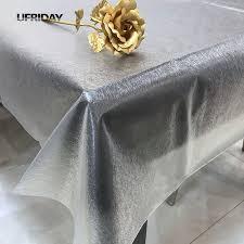 nappe cuisine plastique ufriday 3d doux verre transparent nappe de soie table en plastique