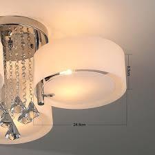 Wohnzimmer Deckenleuchten Modern Natsen Led Kristall Deckenleuchte Deckenlampe Designer Wohnzimmer
