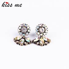 store stud earrings fashion jewelry women exquisite all match vintage small stud