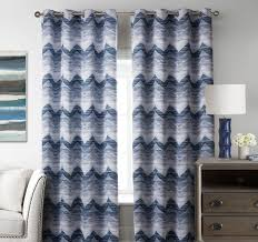Blue And Yellow Curtains Prints Chevron Curtains Gray Yellow Blue Black And White