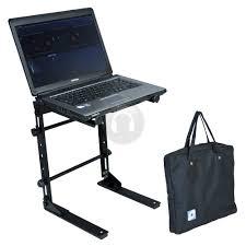 Adjustable Laptop Desk by Ekho Pa Pro Adjustable Laptop Stands Portable Mobile Party Dj