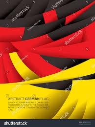Germman Flag Abstract Germany German Flag Vector Art Stock Vector 187678937
