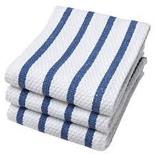 kitchen towel stone art style design living amazon com now designs basketweave kitchen towel set of 3 royal