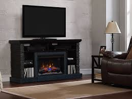 Electric Fireplace Tv by Matterhorn Electric Fireplace Tv Stand In Caribbean Mahogany