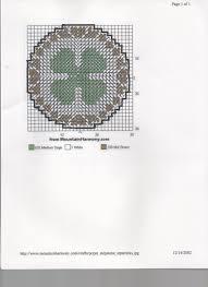 plastic canvas thanksgiving patterns 4 leaf clover plastic canvas pinterest leaf clover plastic
