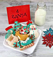 decorated christmas cookies simple christmas cookies my helpers the bearfoot baker