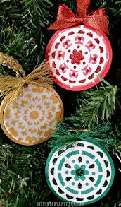 spend time crafting christmas ornaments with the family shoppe no 5