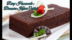 cara membuat brownies kukus simple resep dan cara membuat brownies kukus coklat mudah praktis lembut