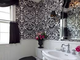 bathroom 100 terrific black and white walls for glamorous