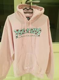 thrasher roses pink hoodie century city gumtree classifieds