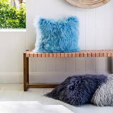 Mongolian Lamb Cushion Sheepskin Cushions Hides Of Excellence