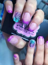 uñas mandalas mistica nail spa pinterest manicure nail