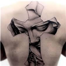 tattoo cross 25 cross back tattoos of all sizes tattoozza