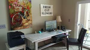 Whitewash Desk H Frame Tables U2013 Homes U0026 Tables
