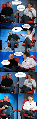 Bill Gates Meme - bill gates steve jobs comic by charmanderfan7 on deviantart