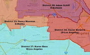 Los Angeles District Map by Which Congressional District Are You In Larchmont Buzz