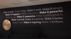 custom business wall decals decal world rog corporate wall art