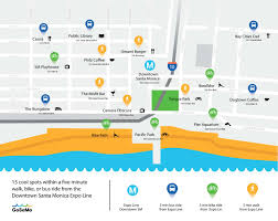 mapping everything to do around the new santa monica expo line